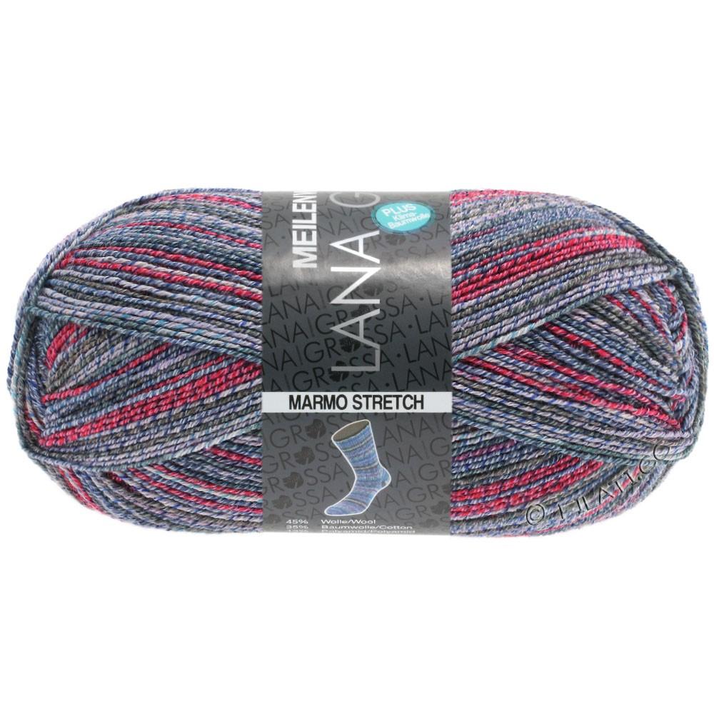 Lana Grossa MEILENWEIT 100g Cotton Stretch Print   7259 - Marmo Stretch-