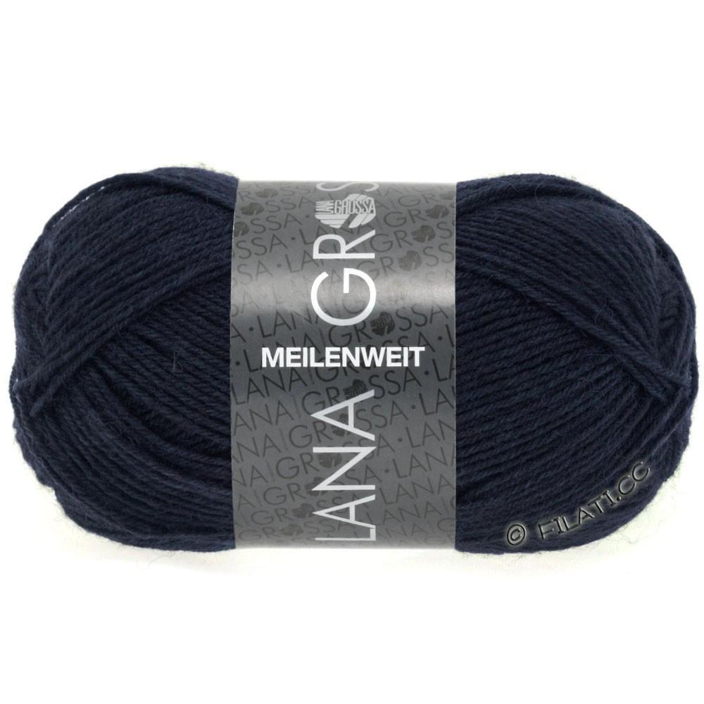 Lana Grossa MEILENWEIT 50g Uni | 1141-bleu nuit