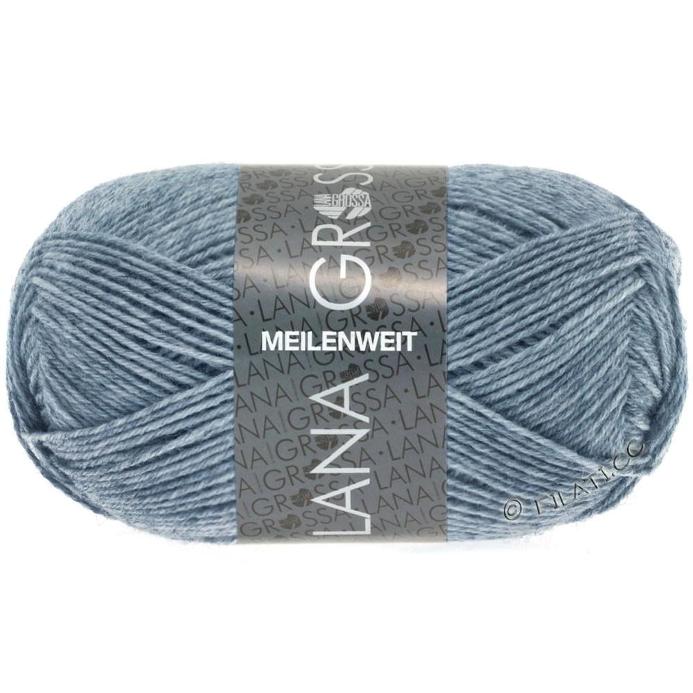 Lana Grossa MEILENWEIT 50g Uni | 1302-jean/gris chiné