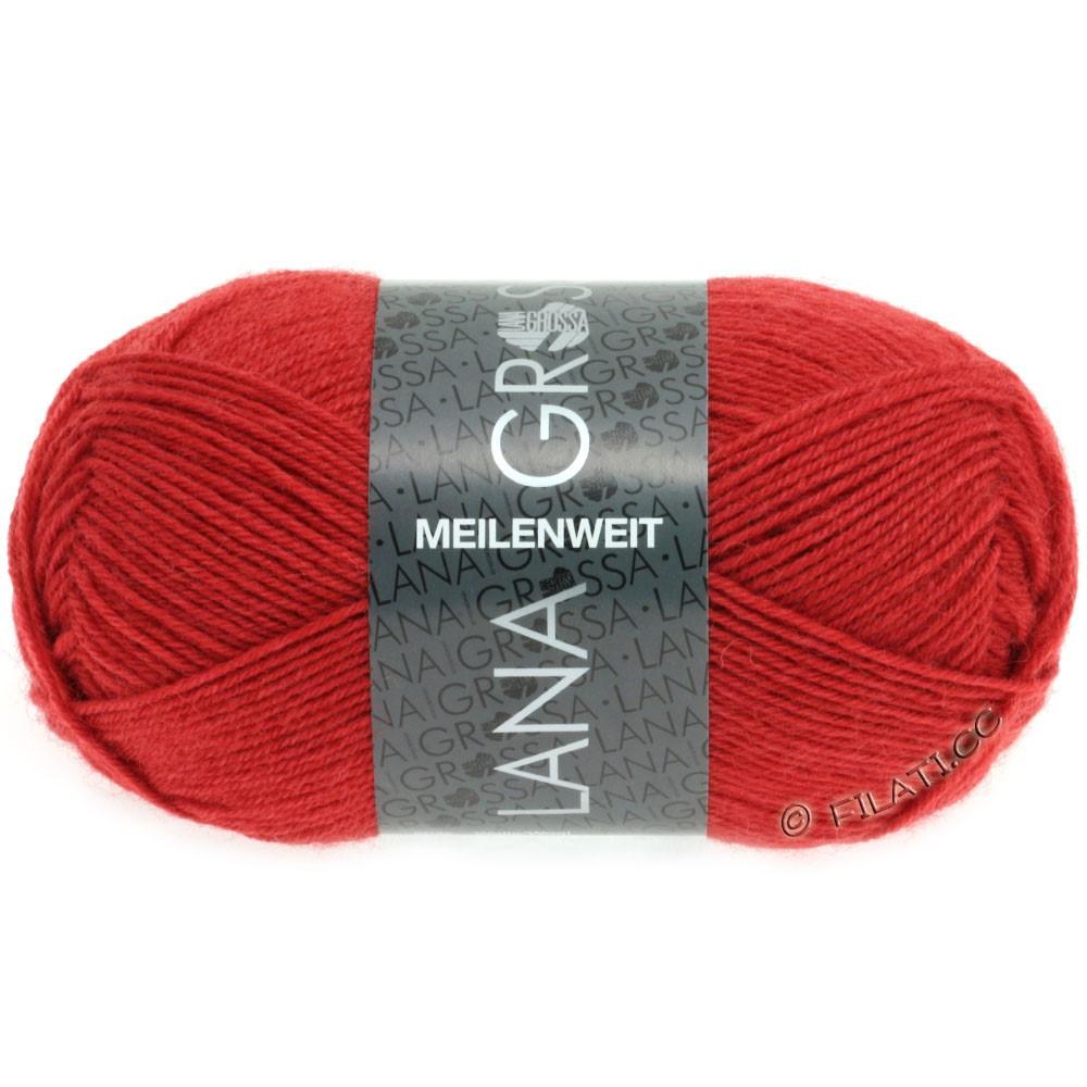 Lana Grossa MEILENWEIT 50g Uni | 1323-rouge foncé