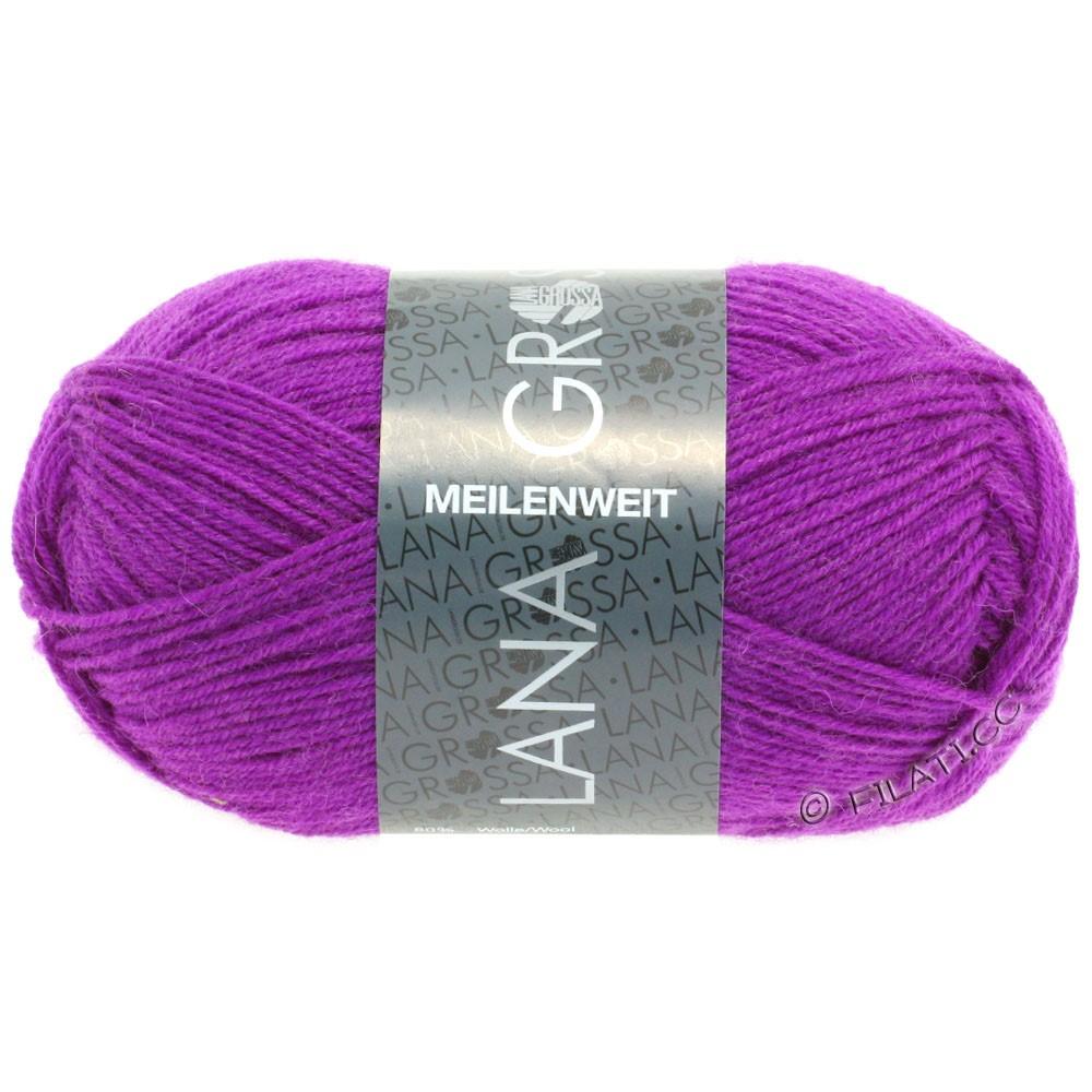 Lana Grossa MEILENWEIT 50g Uni | 1361-violet