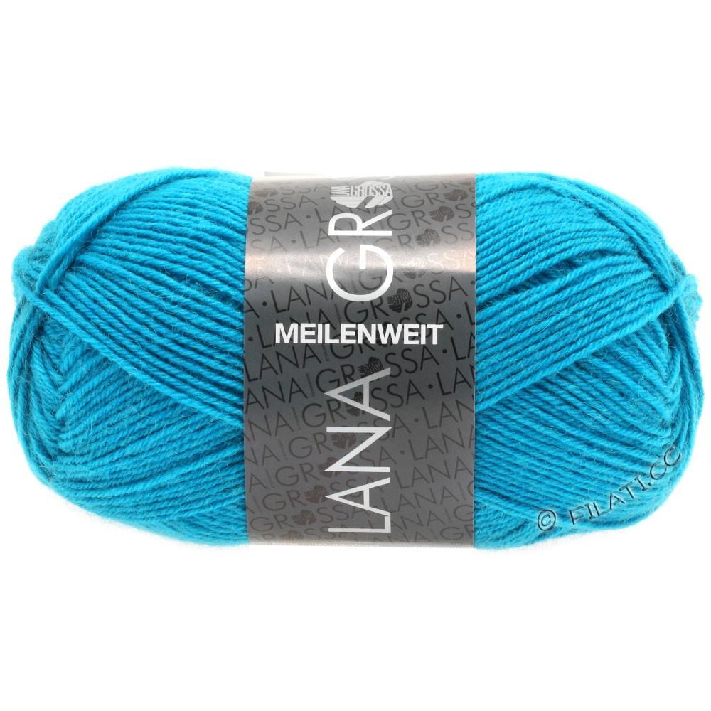 Lana Grossa MEILENWEIT 50g Uni | 1366-bleu turquoise
