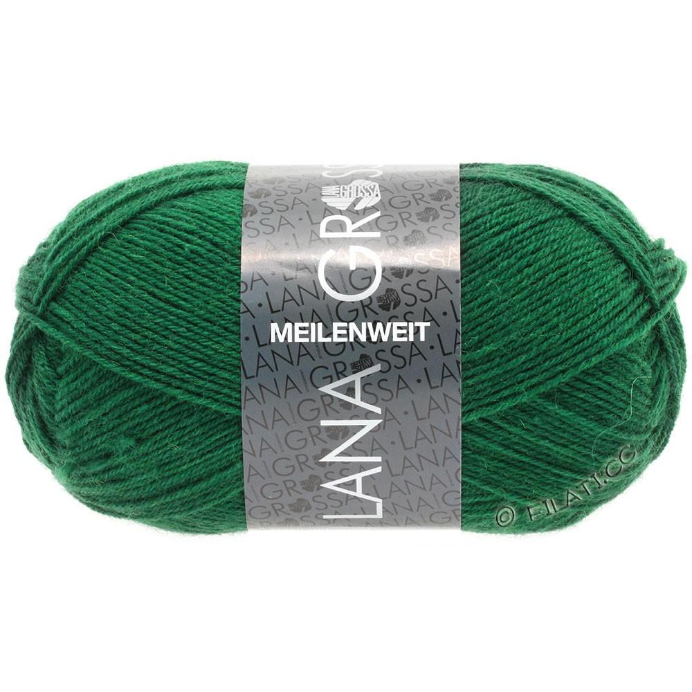 Lana Grossa MEILENWEIT 50g Uni | 1367-vert bouteille