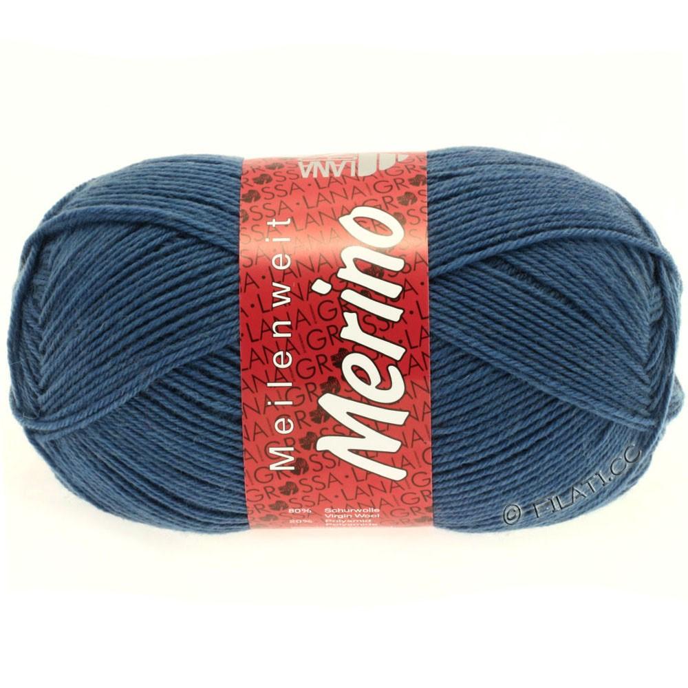 Lana Grossa MEILENWEIT 100g Merino Uni | 2033-bleu centaurée