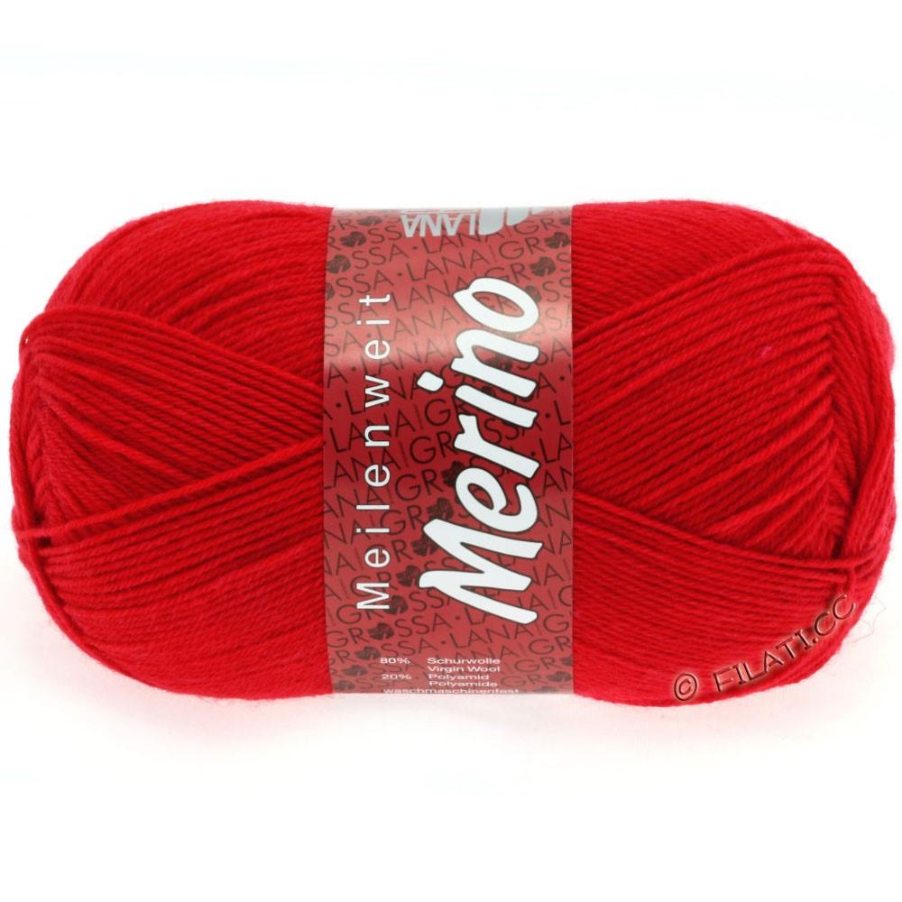 Lana Grossa MEILENWEIT 100g Merino Uni | 2037-rouge