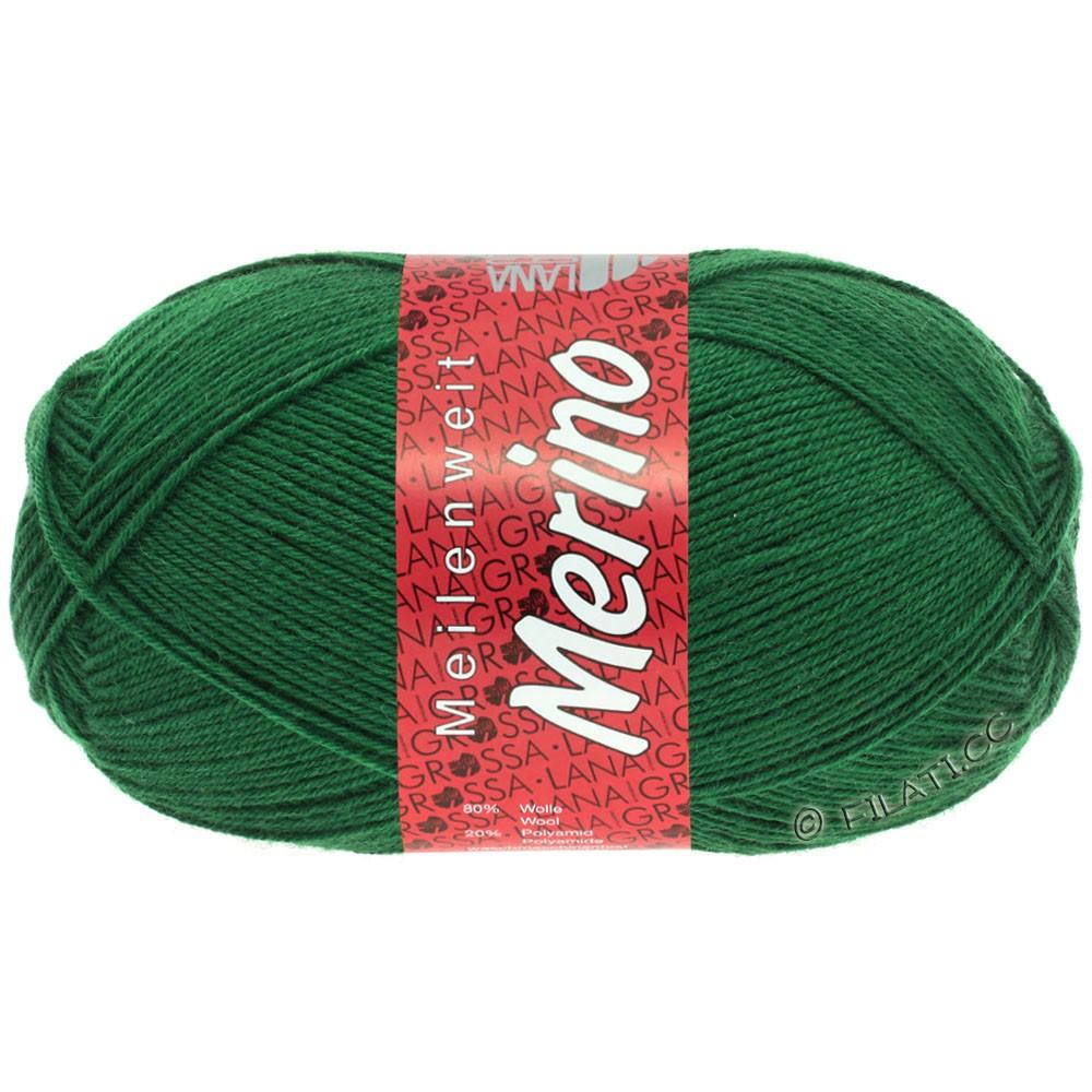 Lana Grossa MEILENWEIT 100g Merino Uni | 2045-vert bouteille
