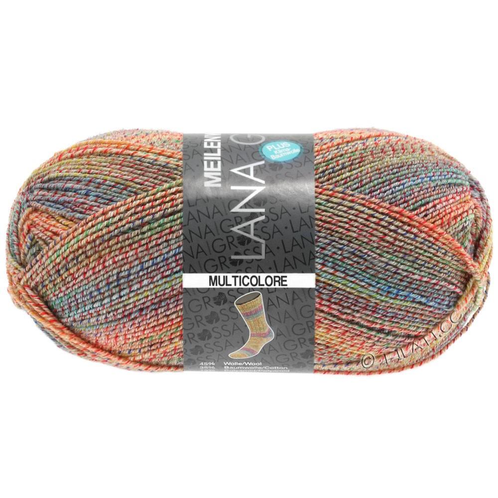 Lana Grossa MEILENWEIT 100g Cotton Stretch Print   5734 - Multicolore-