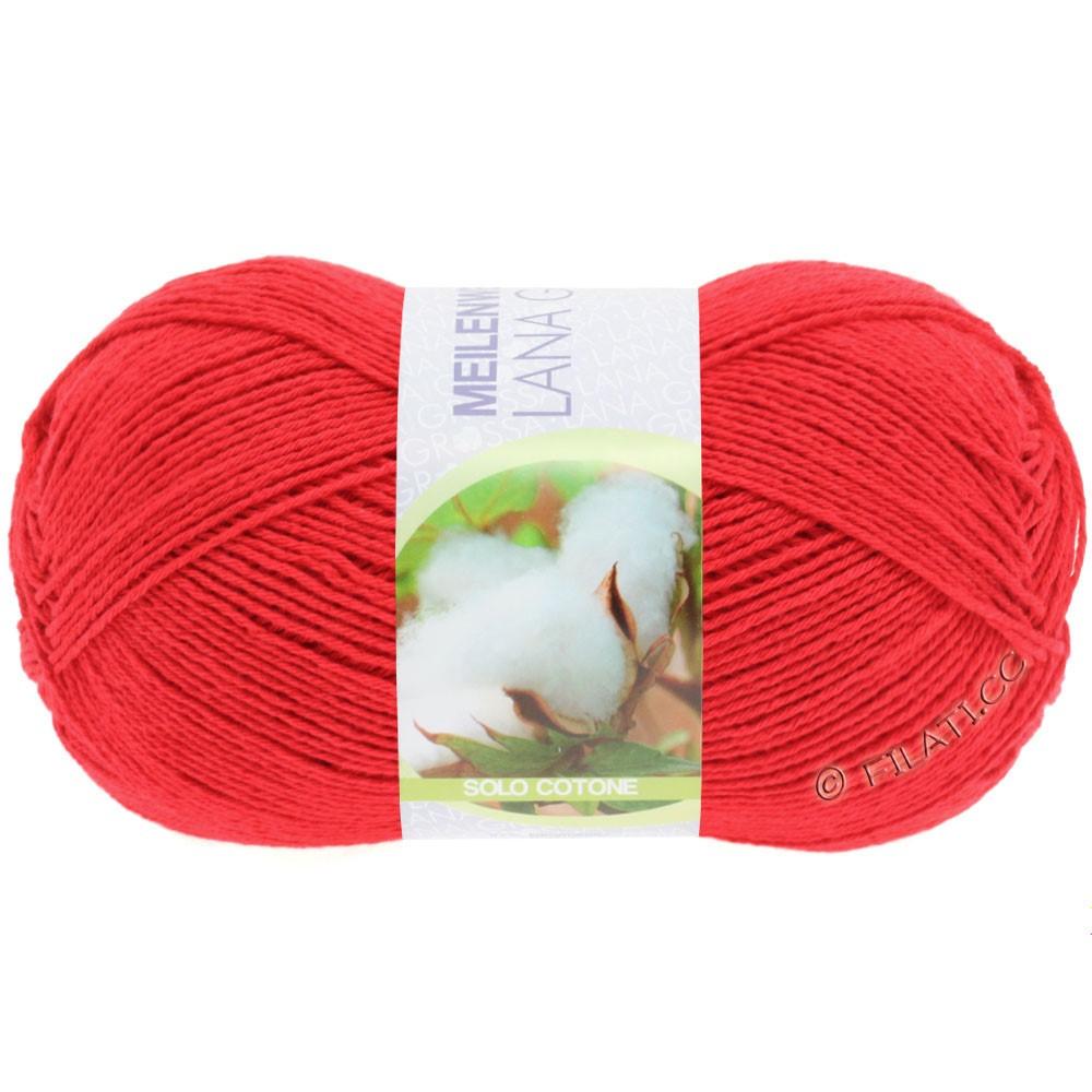 Lana Grossa MEILENWEIT 100g Solo Cotone Unito | 3455-rouge