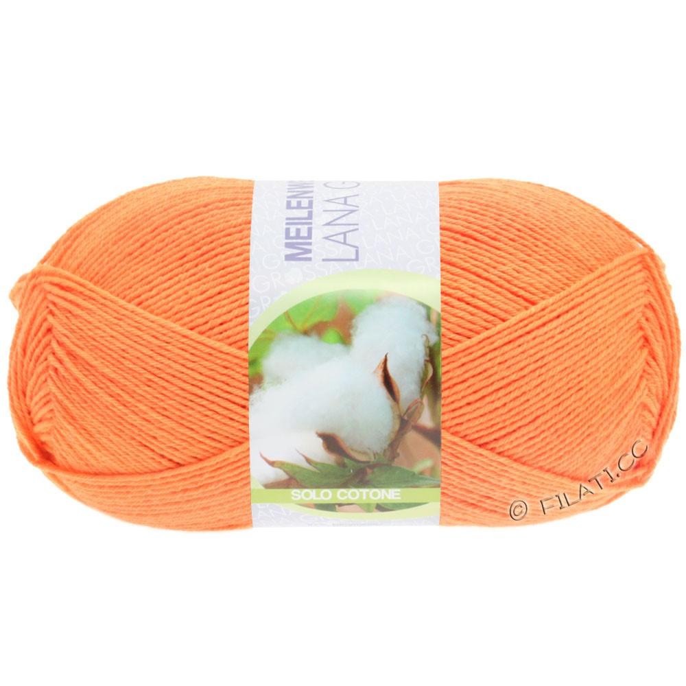 Lana Grossa MEILENWEIT 100g Solo Cotone Unito   3463-orange