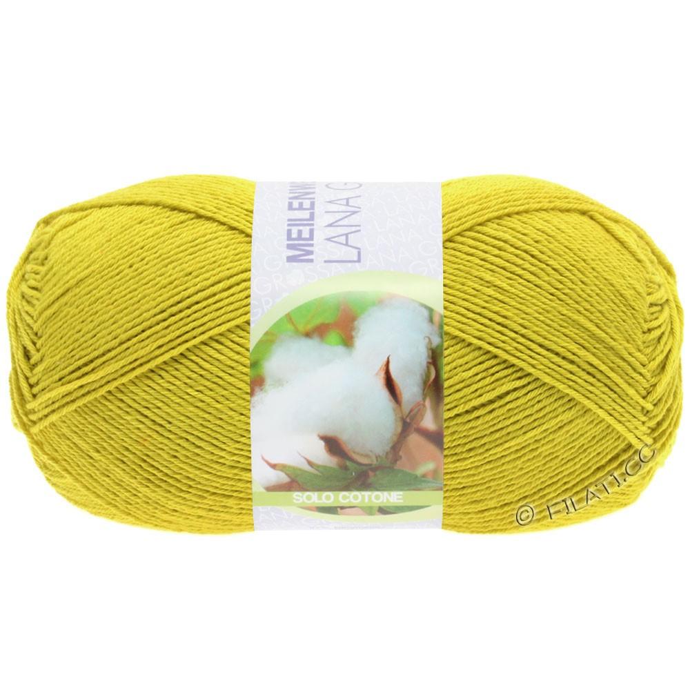 Lana Grossa MEILENWEIT 100g Solo Cotone Unito | 3465-jaune