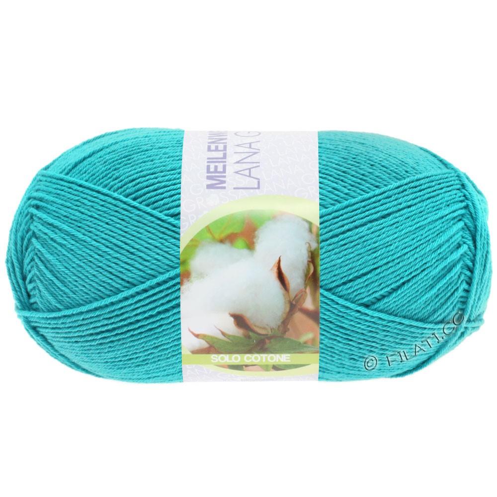 Lana Grossa MEILENWEIT 100g Solo Cotone Unito | 3466-turquoise