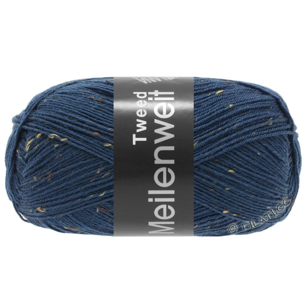 Lana Grossa MEILENWEIT 100g Tweed | 128-bleu