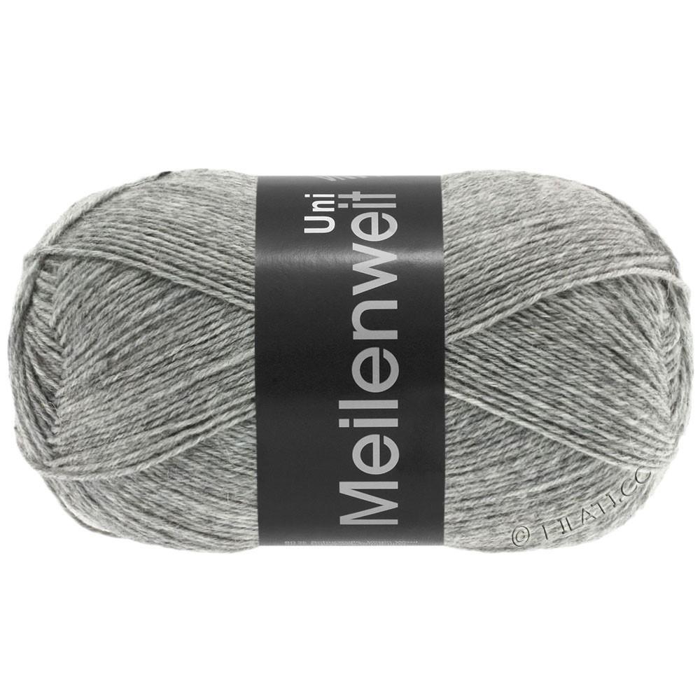 Lana Grossa MEILENWEIT 100g  Uni | 1103-gris clair