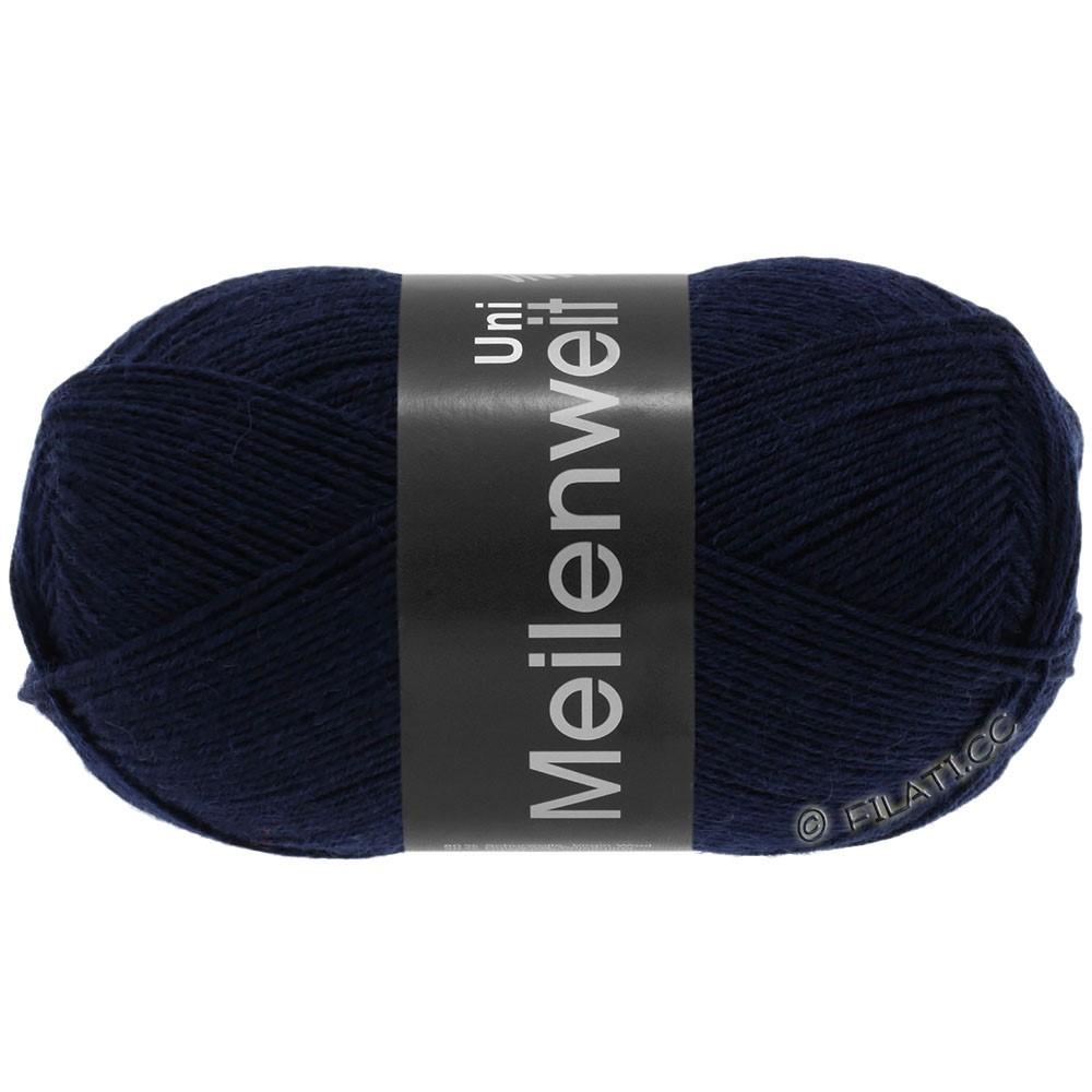 Lana Grossa MEILENWEIT 100g  Uni | 1141-bleu foncé