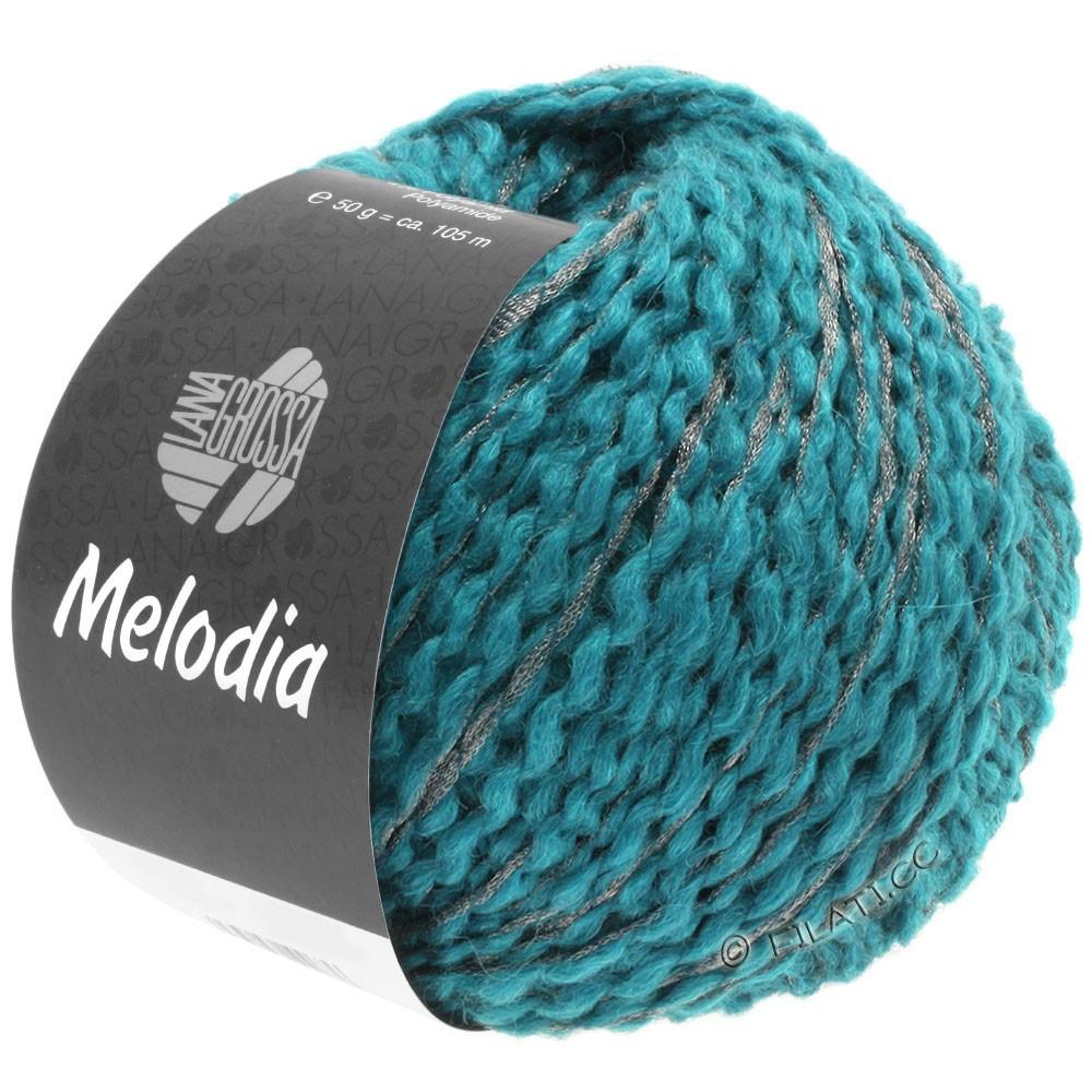 Lana Grossa MELODIA | 11-bleu azur/argent