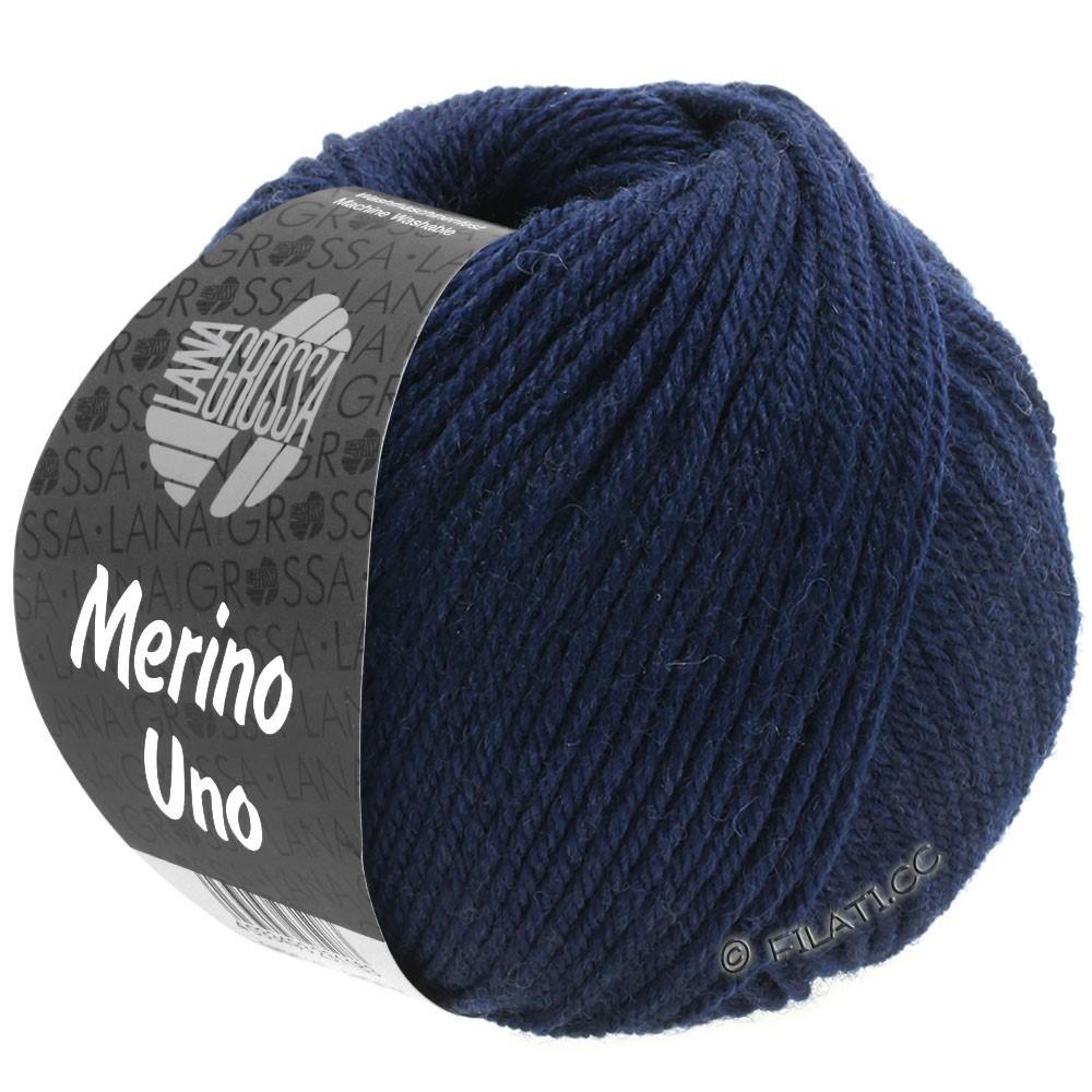 Lana Grossa MERINO UNO | 04-bleu nuit
