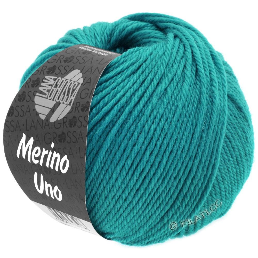 Lana Grossa MERINO UNO | 07-bleu turquoise