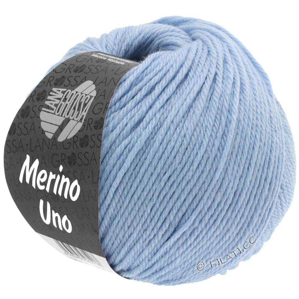 Lana Grossa MERINO UNO | 08-bleu clair