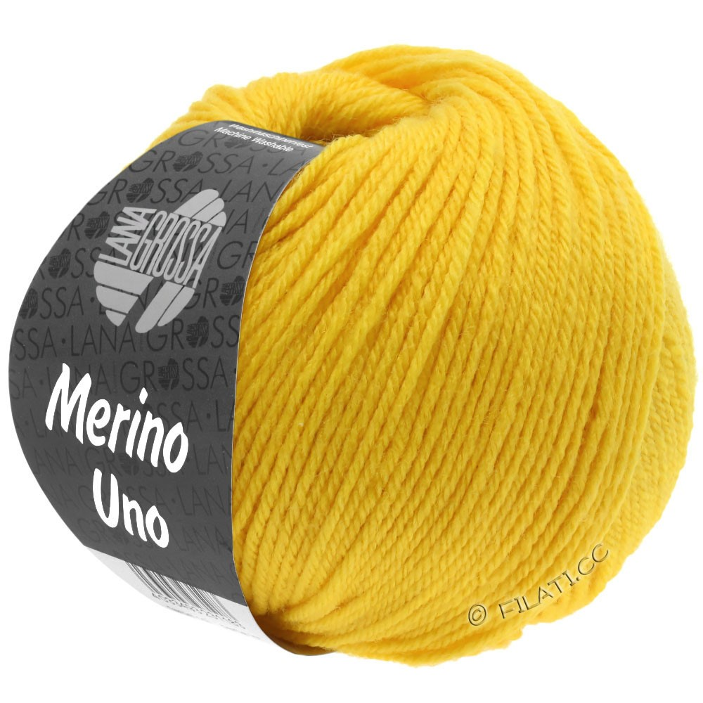 Lana Grossa MERINO UNO | 14-jaune