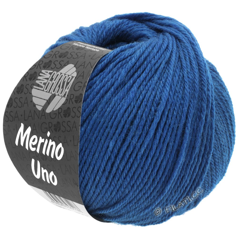Lana Grossa MERINO UNO | 24-bleu gentiane
