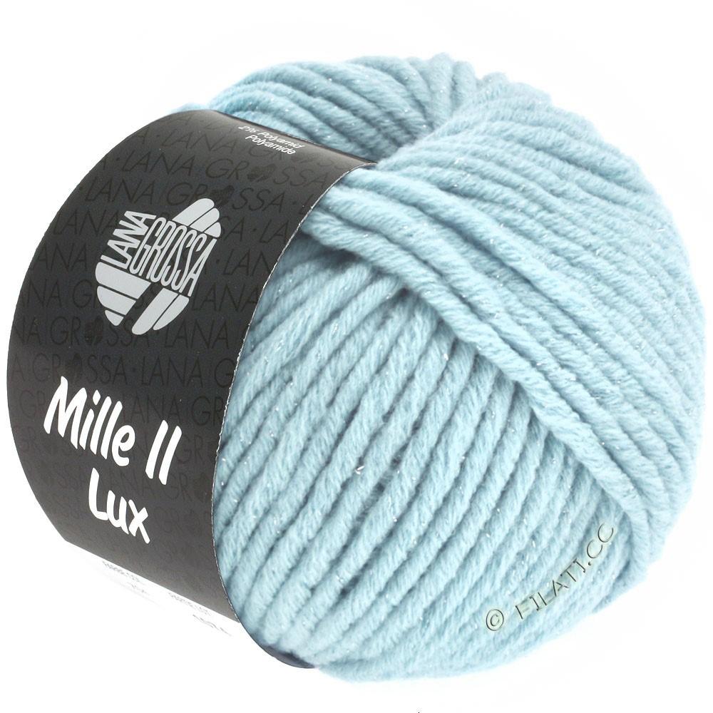 Lana Grossa MILLE II Lux | 711-bleu clair