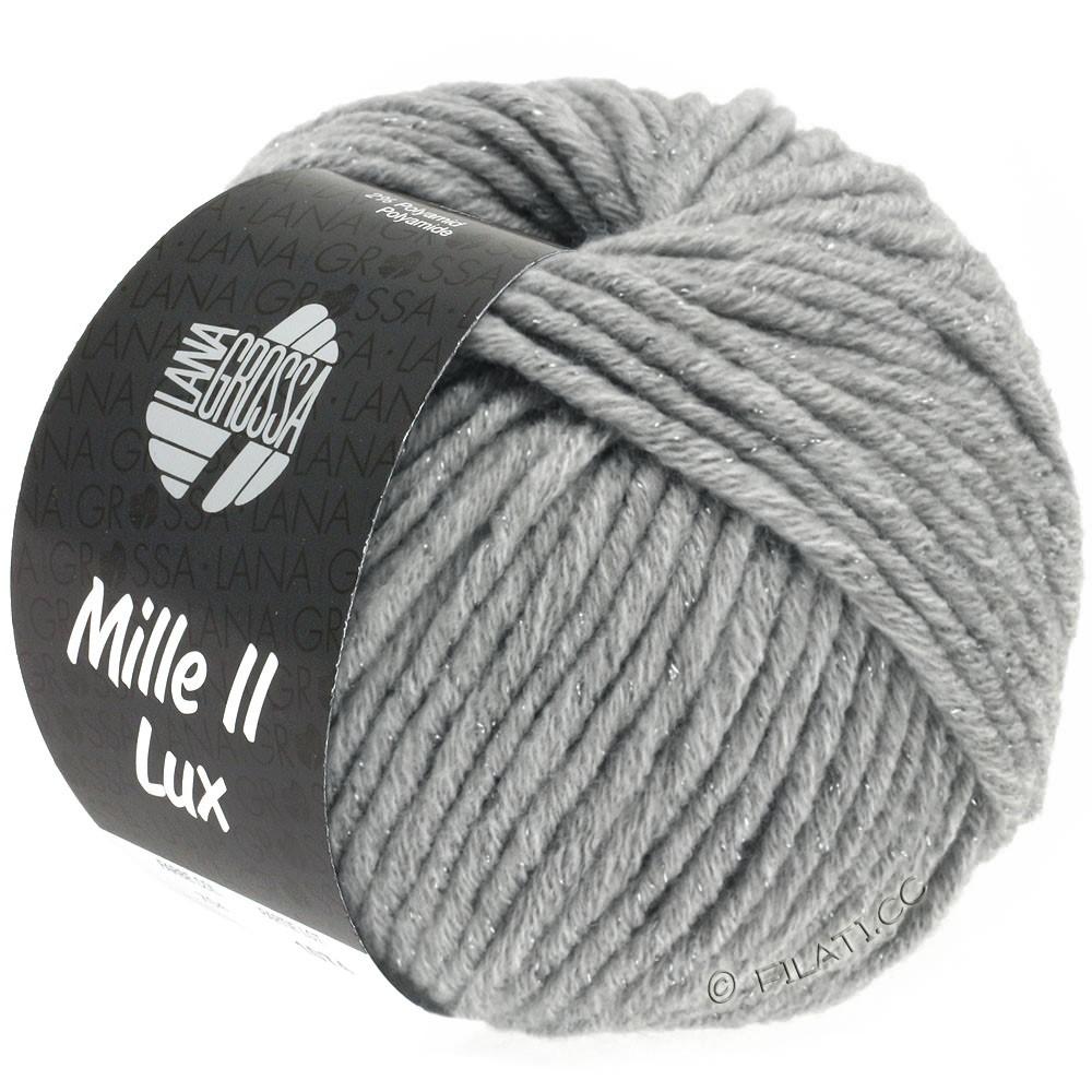 Lana Grossa MILLE II Lux | 713-gris clair
