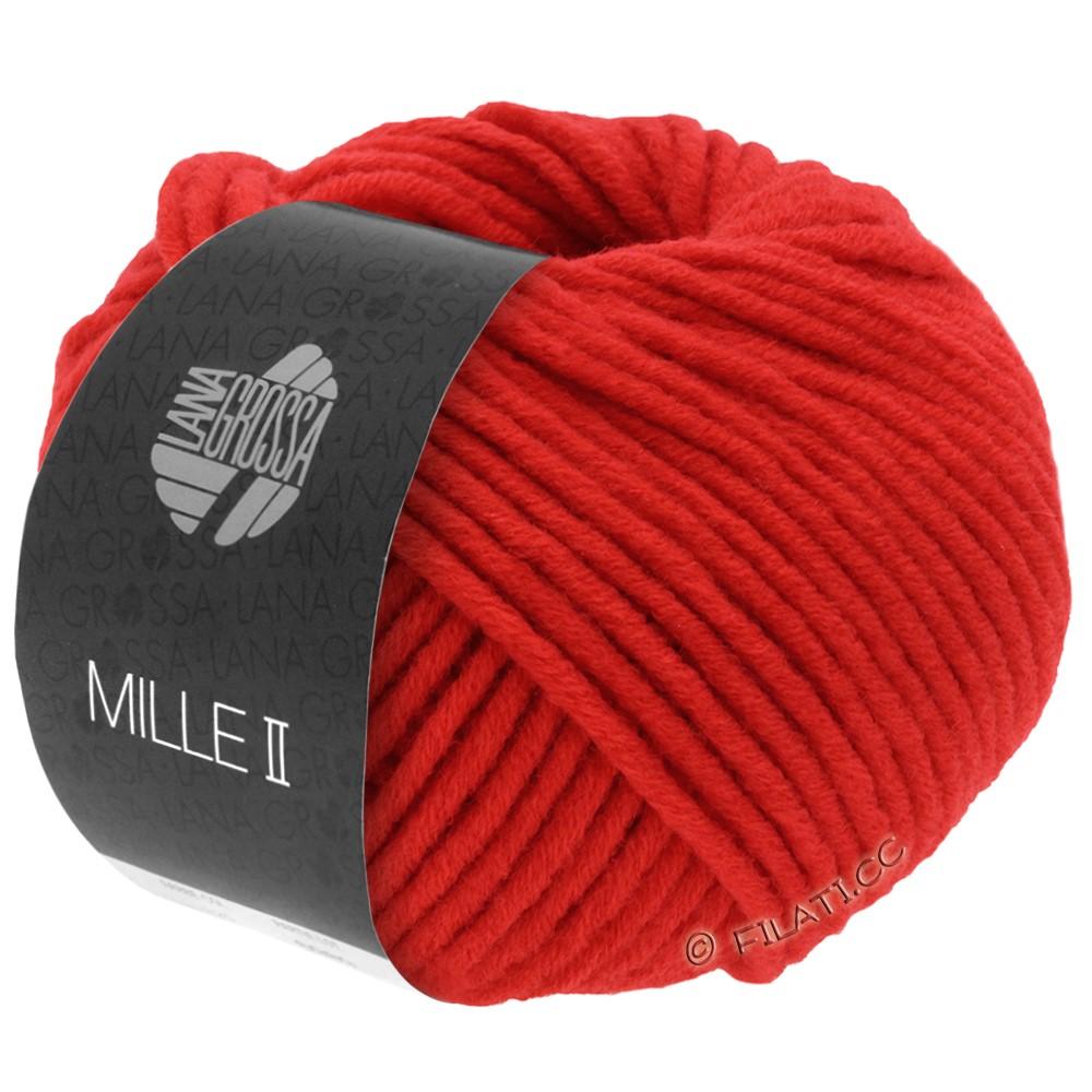 Lana Grossa MILLE II   074-rouge lumineux