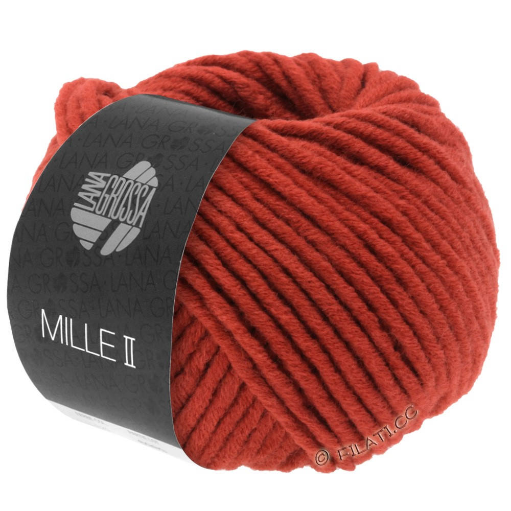 Lana Grossa MILLE II   082-rouge brique