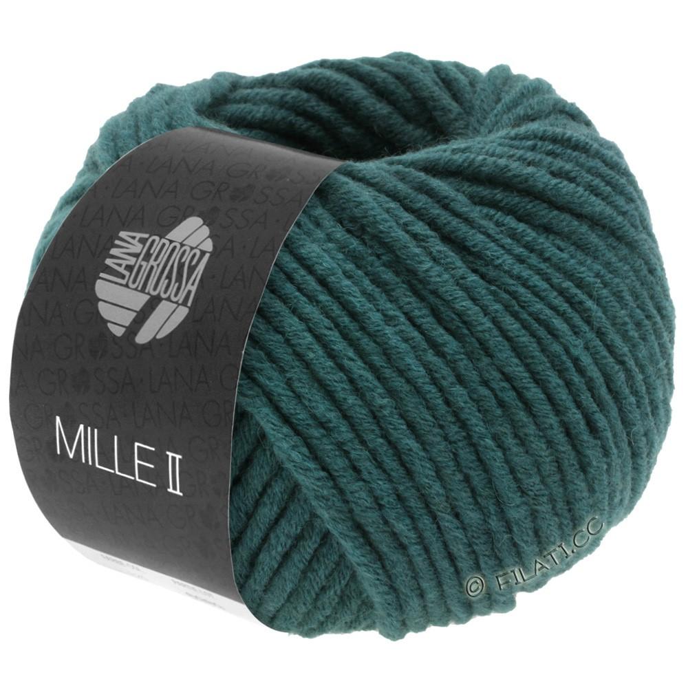 Lana Grossa MILLE II   091-vert bleu