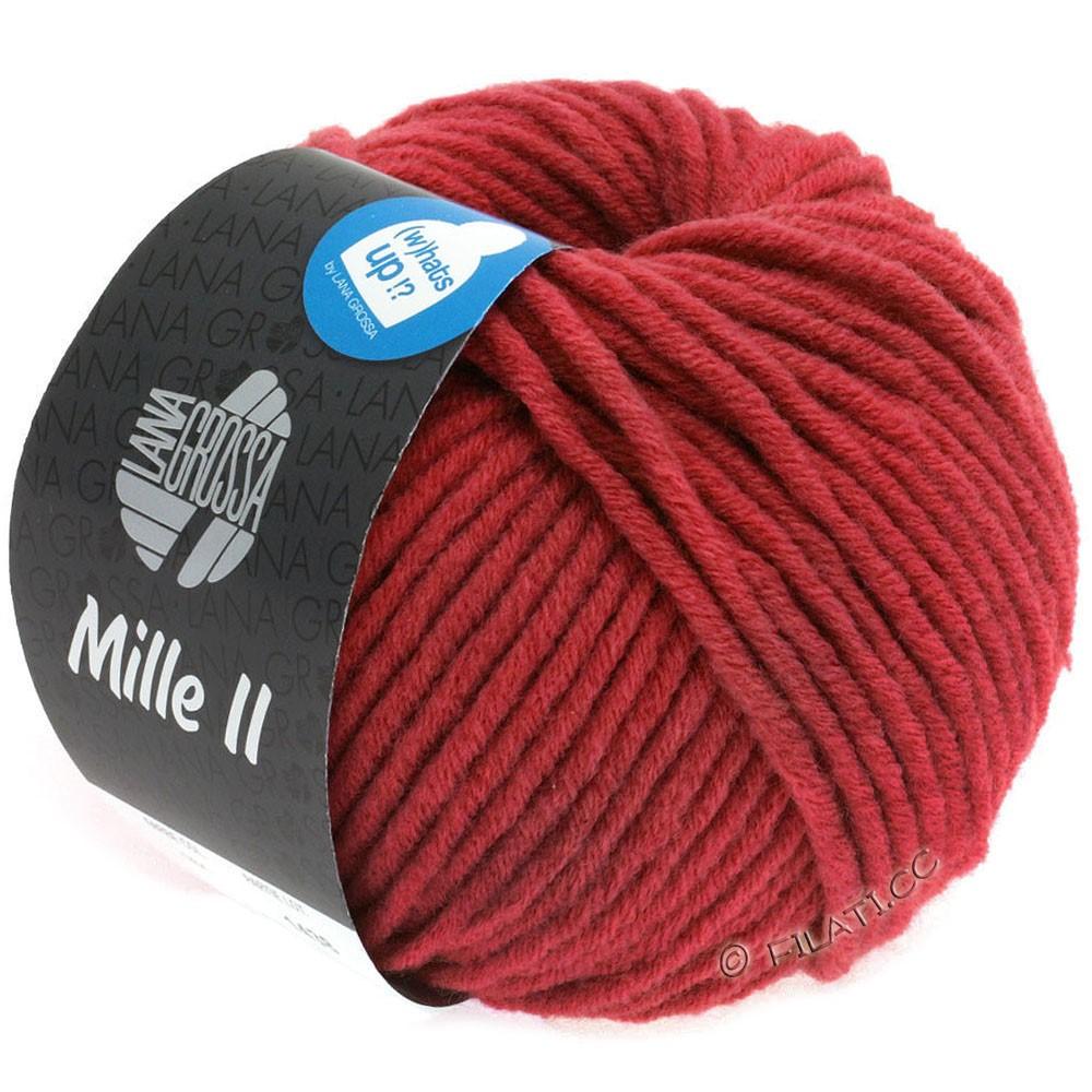 Lana Grossa MILLE II   092-rouge carmin