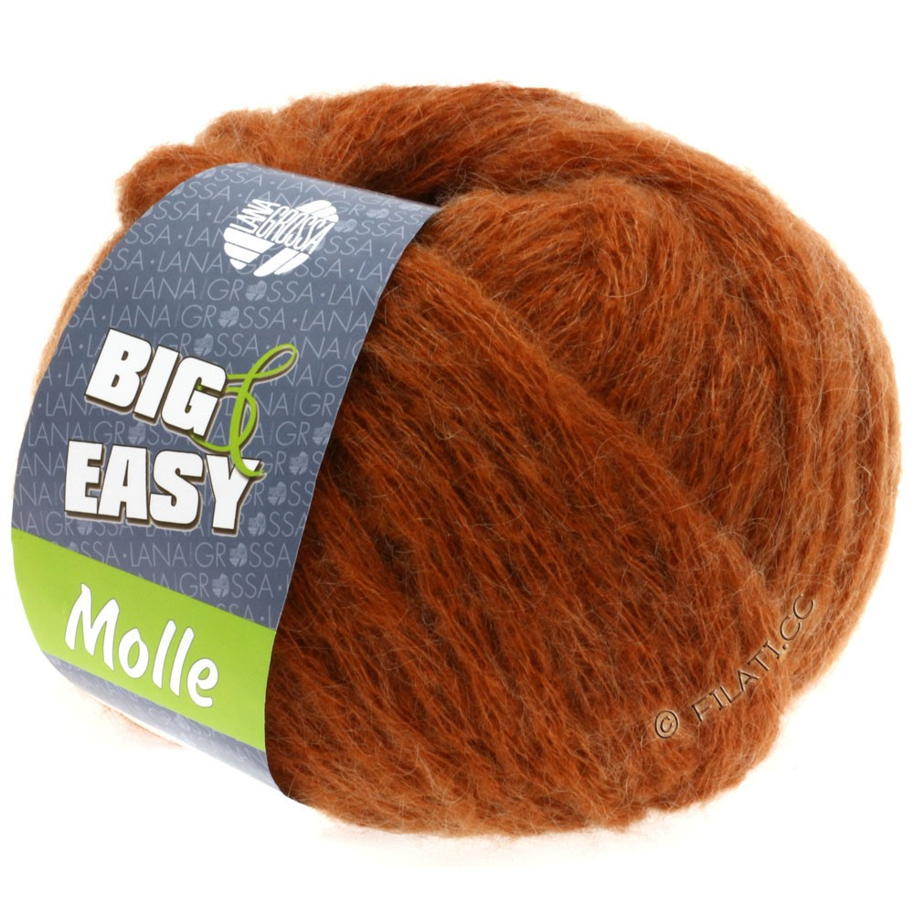 Lana Grossa MOLLE 100g (Big & Easy) | 01-cuivre