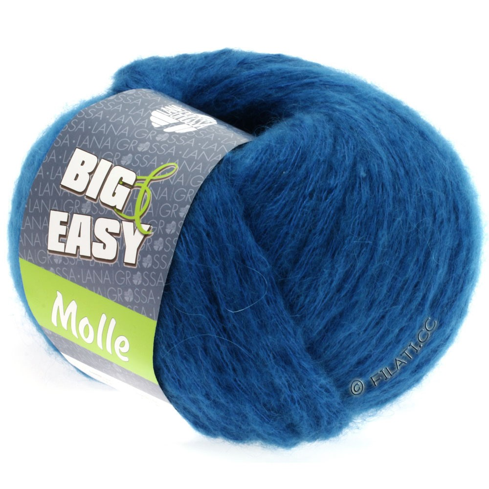 Lana Grossa MOLLE 100g (Big & Easy) | 04-bleu