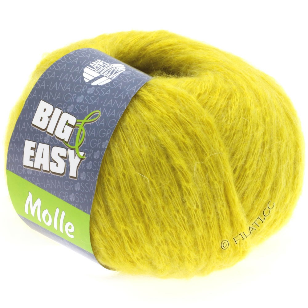 Lana Grossa MOLLE 100g (Big & Easy) | 07-jaune