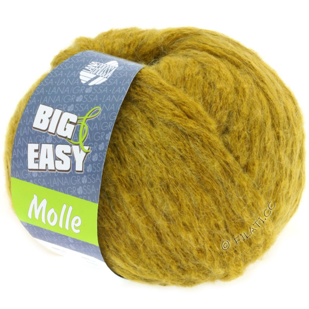Lana Grossa MOLLE 100g (Big & Easy) | 13-moutarde