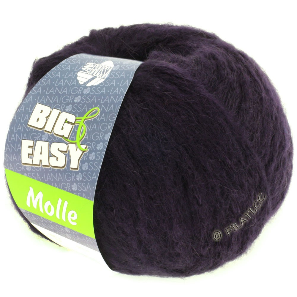 Lana Grossa MOLLE 100g (Big & Easy) | 16-bleu nuit