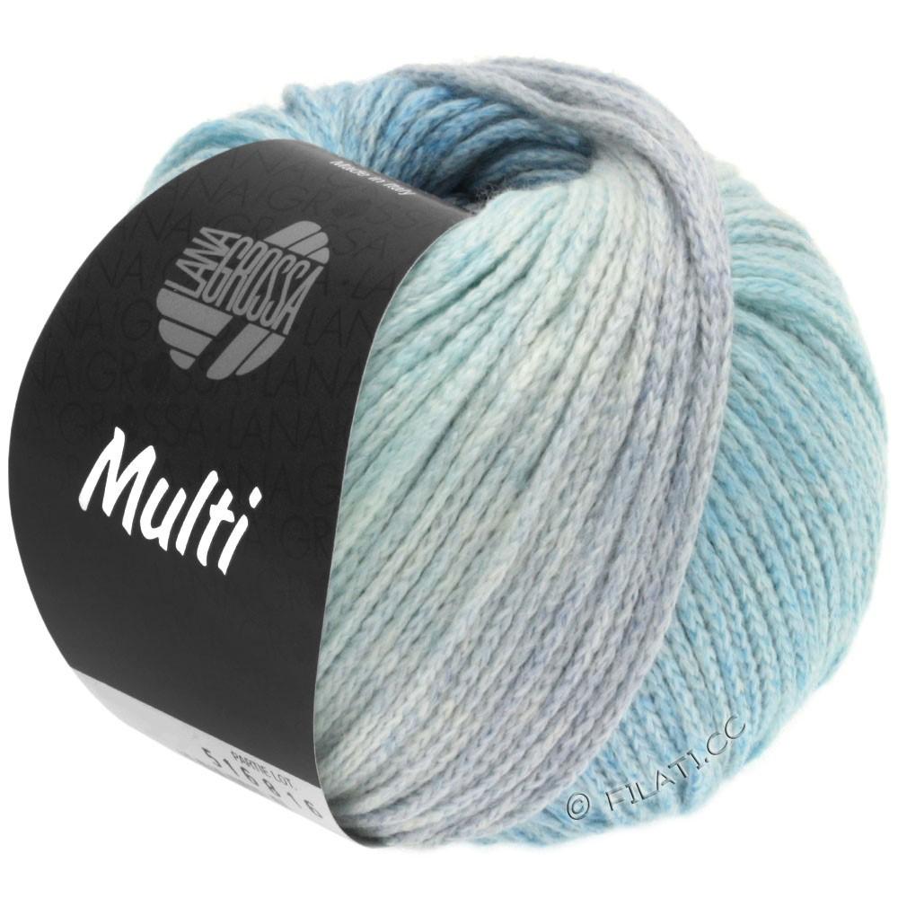 Lana Grossa MULTI | 01-bleu clair/jean/menthe