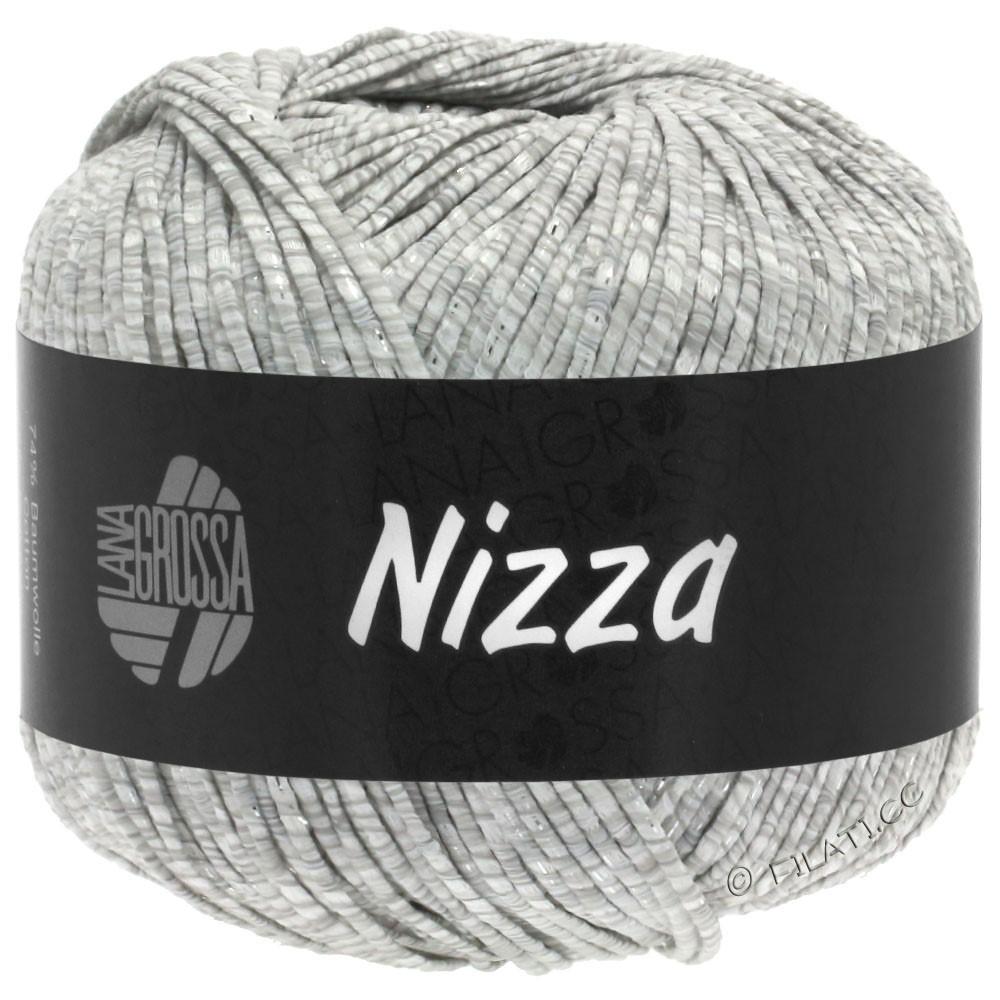 Lana Grossa NIZZA | 01-blanc/gris clair/argent