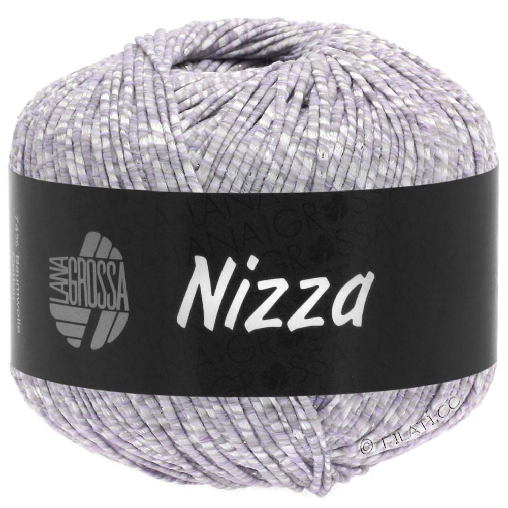 Lana Grossa NIZZA | 02-blanc/pourpre tendre/argent