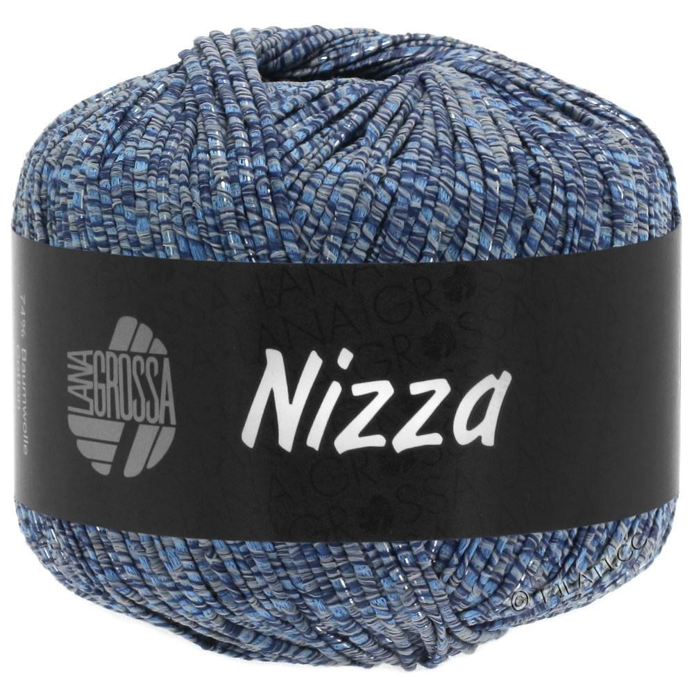 Lana Grossa NIZZA | 06-bleu gris/marine/argent