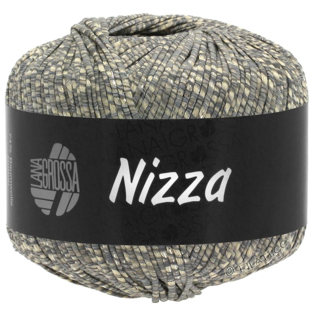 Lana Grossa NIZZA | 08-beige/gris/argent