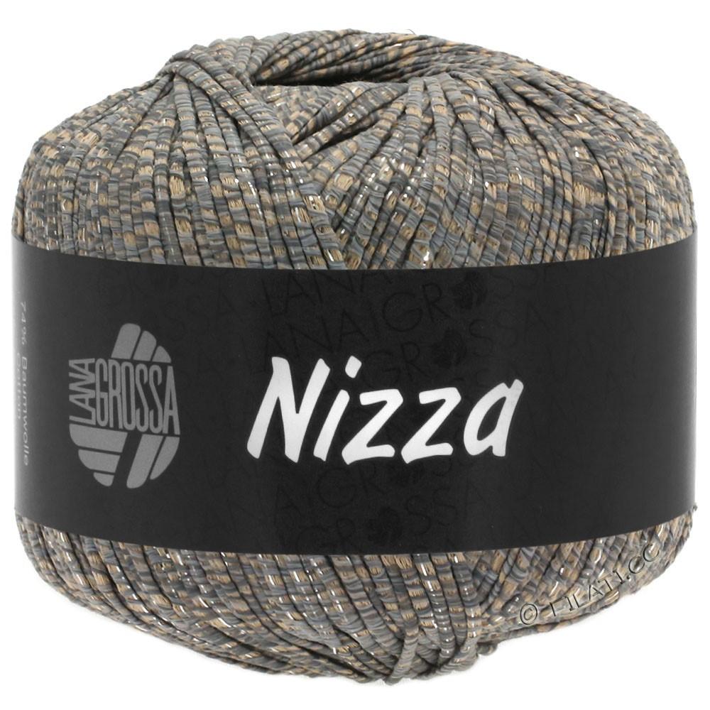 Lana Grossa NIZZA | 09-chameau/gris/argent