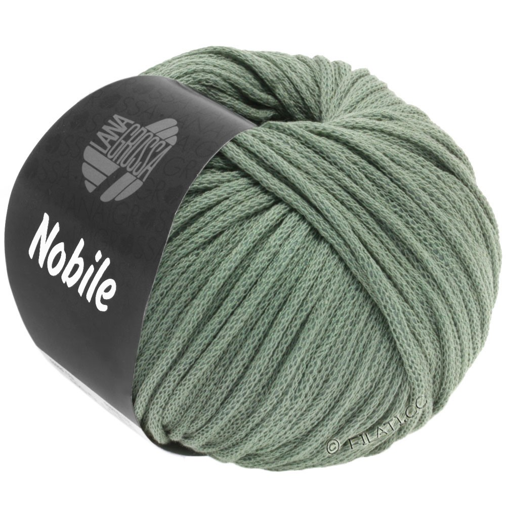 Lana Grossa NOBILE | 23-gris vert