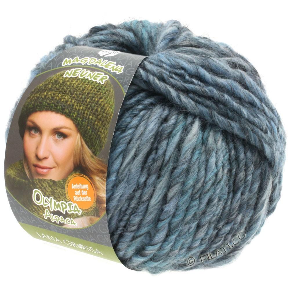 Lana Grossa OLYMPIA Alpaca | 901-bleu clair/bleu gris/jean chiné