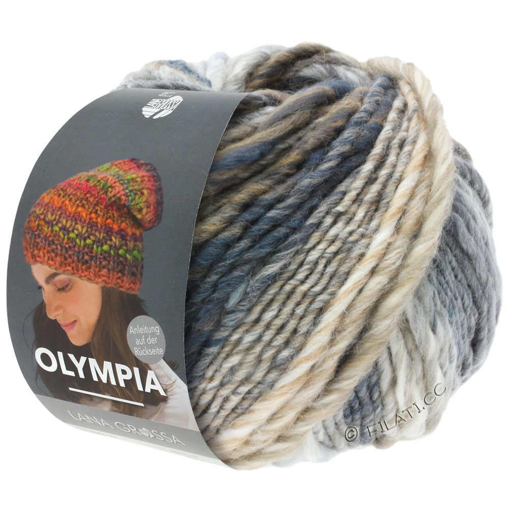 Lana Grossa OLYMPIA Classic | 026-nature/grège/gris/beige/chameau/anthracite
