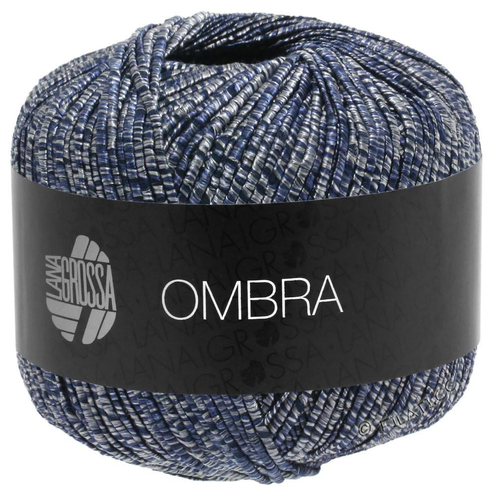 Lana Grossa OMBRA | 10-gris/bleu nuit