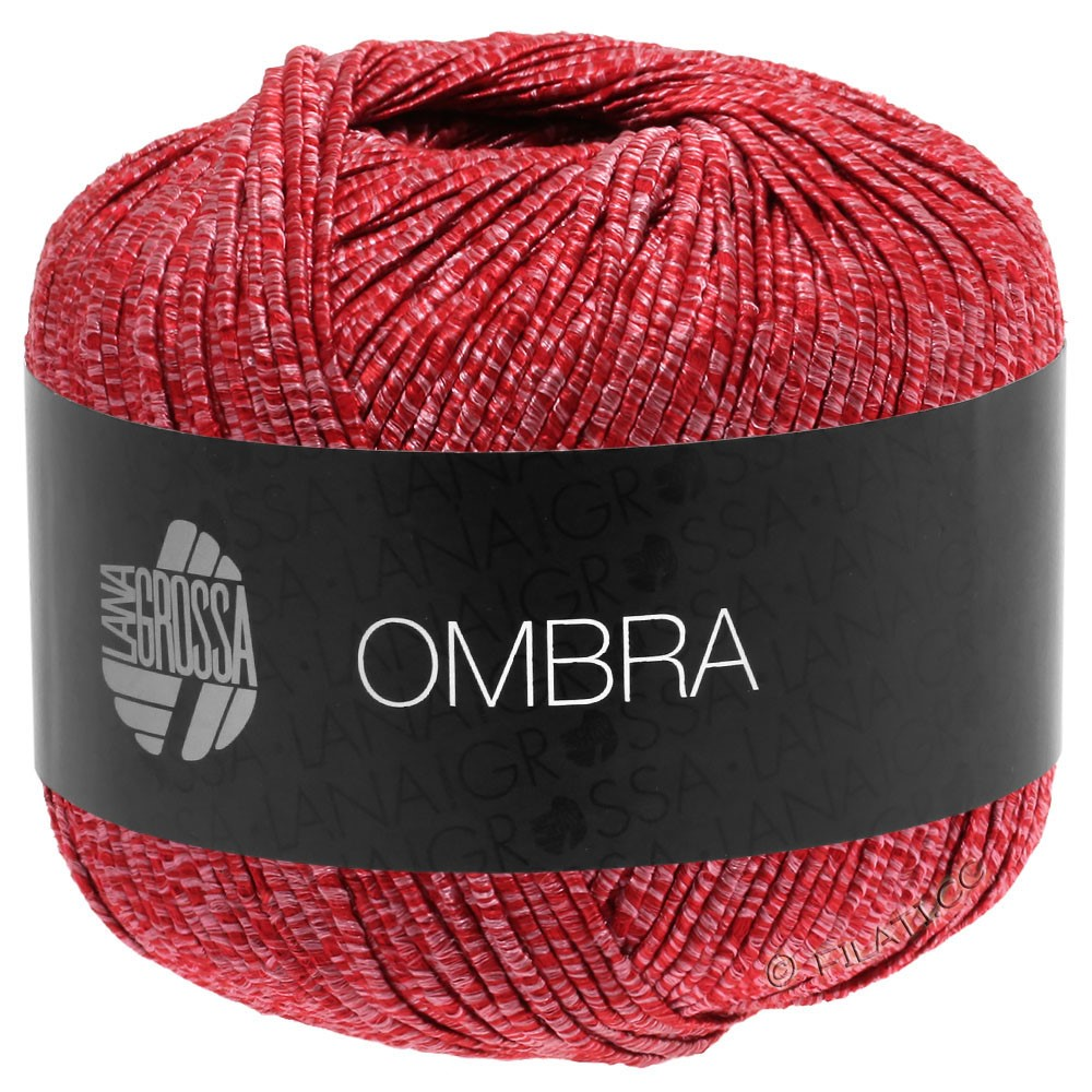 Lana Grossa OMBRA | 11-rouge clair/rouge