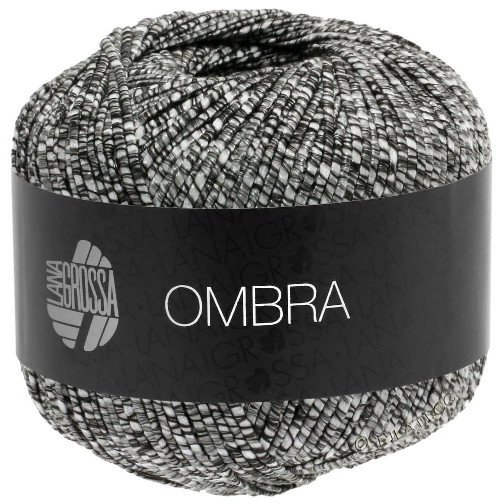 Lana Grossa OMBRA | 13-brun noir/nature