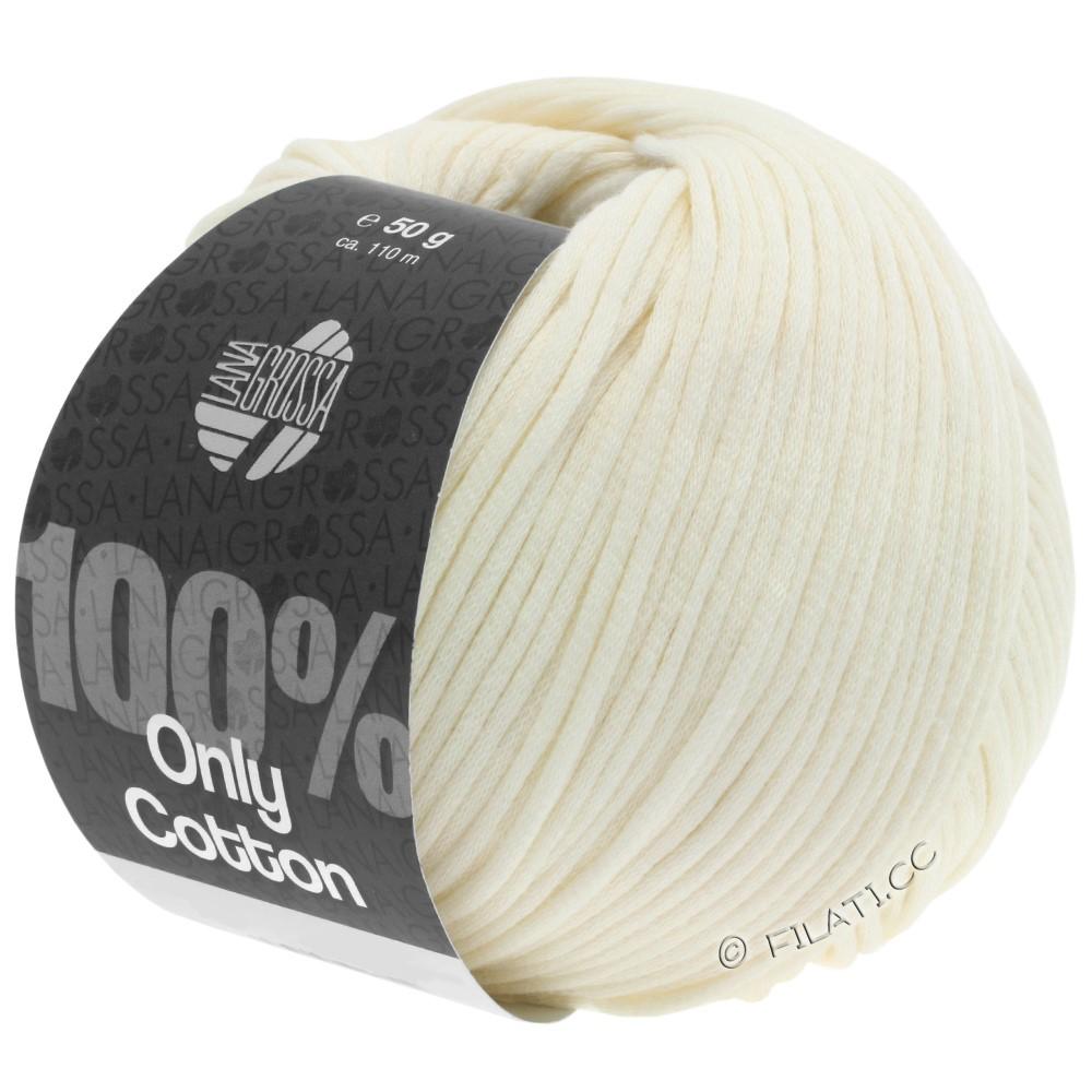Lana Grossa ONLY COTTON | 02-crème