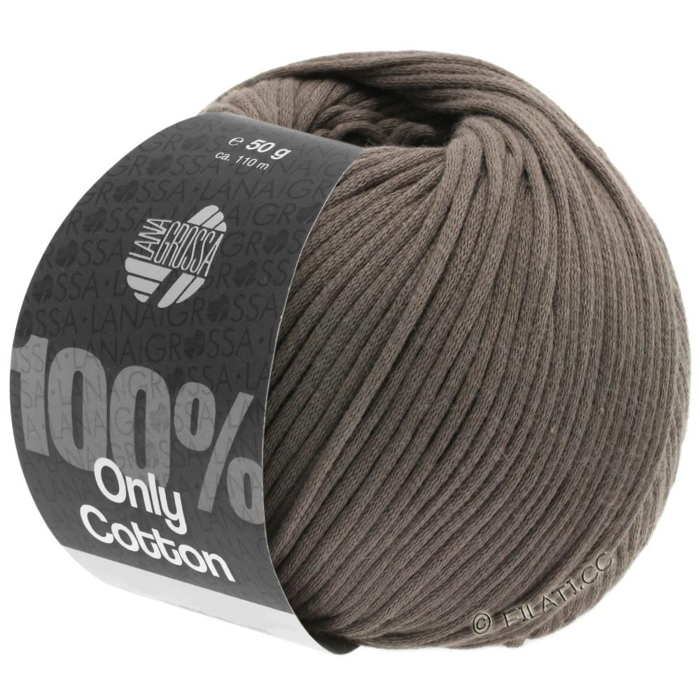 Lana Grossa ONLY COTTON | 04-brun gris