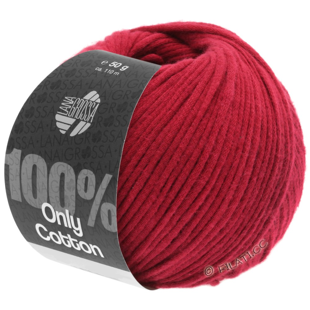 Lana Grossa ONLY COTTON | 08-rouge